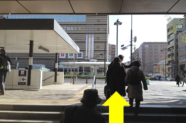 ホテルエルイン京都から京都駅改札口までの最速アクセス行き方02