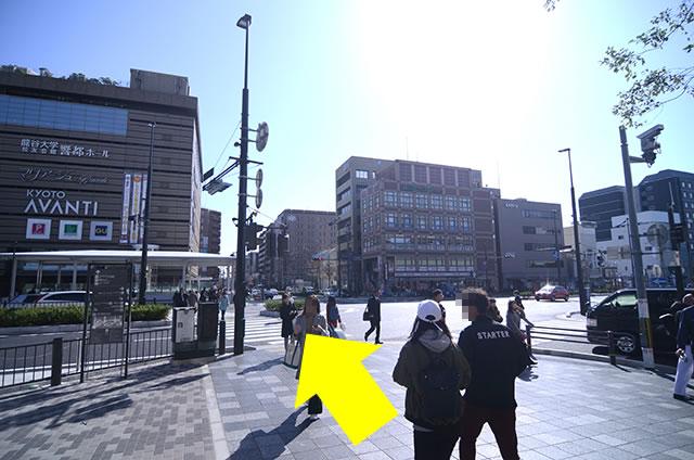 ホテル京阪 京都グランデへの最速アクセスルート04