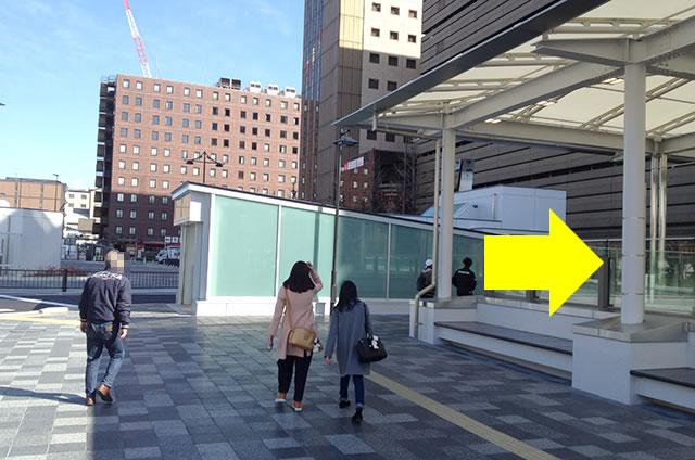 ホテル京阪 京都グランデへの最速アクセスルート06