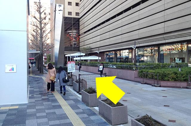 ホテル京阪 京都グランデへの最速アクセスルート07