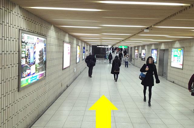 京都駅からホテル京阪京都グランデへの最速アクセス12