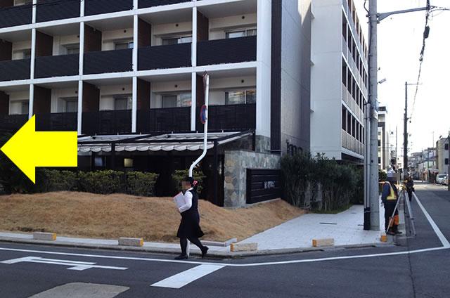 JR京都駅から京お宿 こことまろへの最速アクセス行き方10