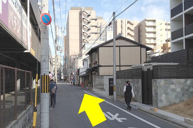 JR京都駅から京お宿 こことまろへの最速アクセス行き方11