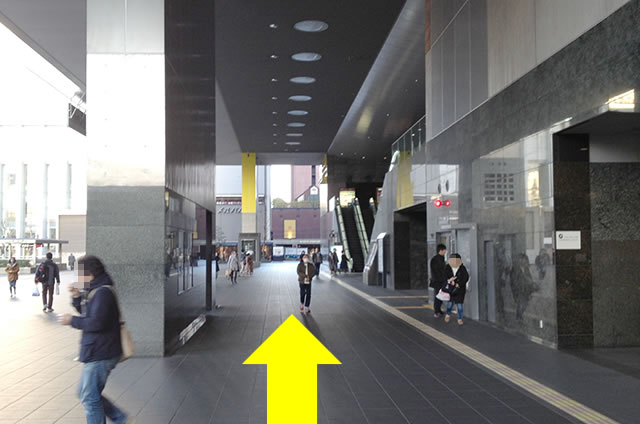 JR京都駅から京都センチュリーホテルまでの最速アクセス行き方道順04