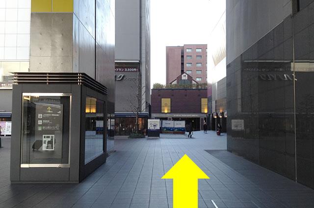 JR京都駅から京都センチュリーホテルまでの最速アクセス行き方道順05