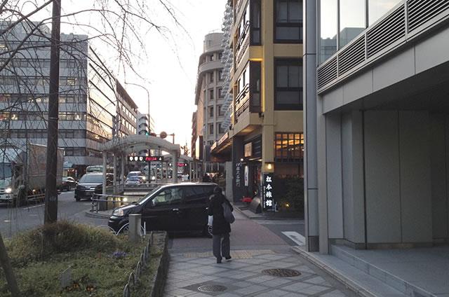 JR京都駅から松本旅館への最速アクセス行き方道順06