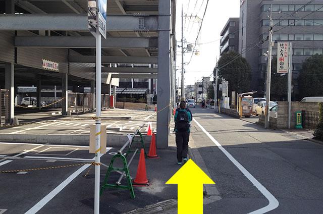 JR京都駅から京お宿 こことまろへの最速アクセス行き方09