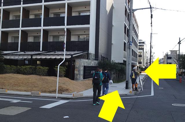 JR京都駅からサクラテラス ザ ギャラリーへの最速アクセス行き方10