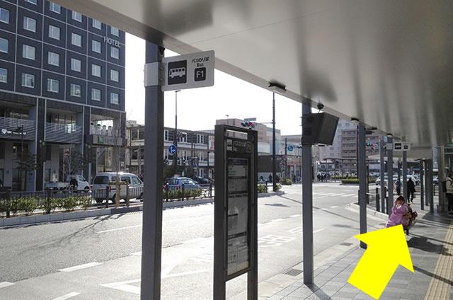 JR京都駅からサクラテラス ザ ギャラリーへの最速アクセス行き方04