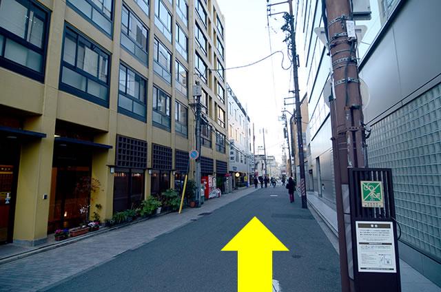 JR京都駅からさと茂旅館への最速アクセス行き方道順07