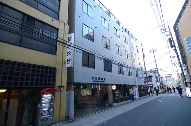 JR京都駅からさと茂旅館への最速アクセス行き方道順08