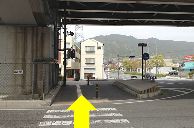 JR京都駅から映画「曇天に笑う」の聖地巡礼日吉東照宮への行き方05